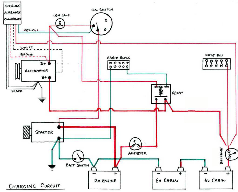 1978 thunderbird wiring ammeter wiring ammeter diagram wiring an ammeter - equipment - canal world #2